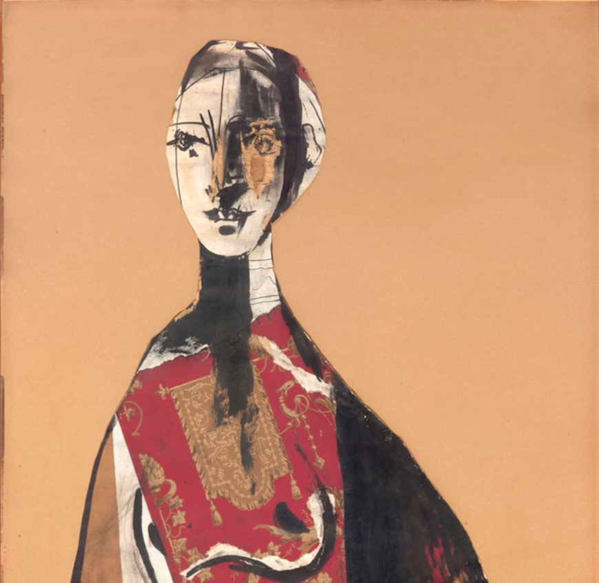 Picasso Portrait of a lady 1928 Louvre Abu Dhabi