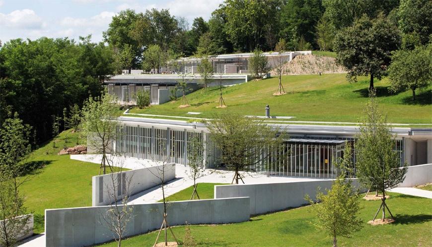 Renzo Piano Notre Dame du Haut Ronchamp Chapel 1