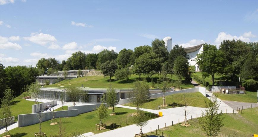 Renzo Piano Notre Dame du Haut Ronchamp expansion 2