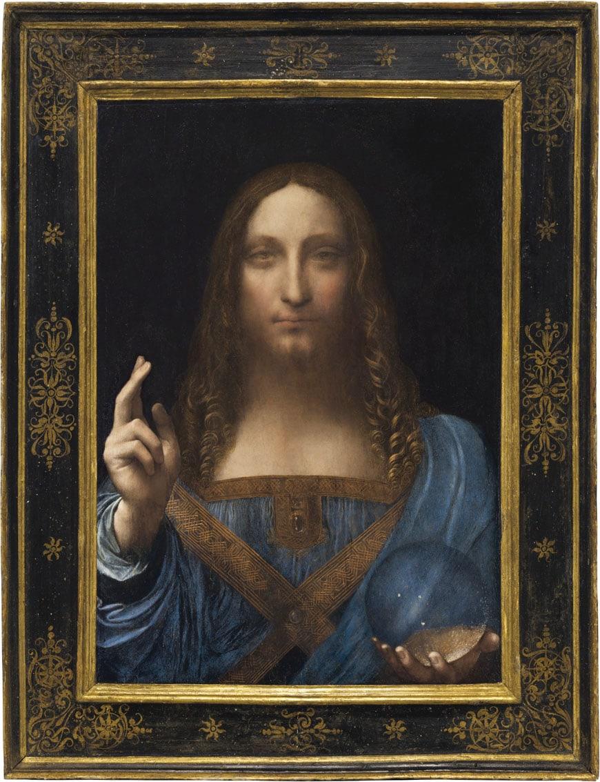 Salvator Mundi Leonardo da Vinci Louvre Abu Dhabi