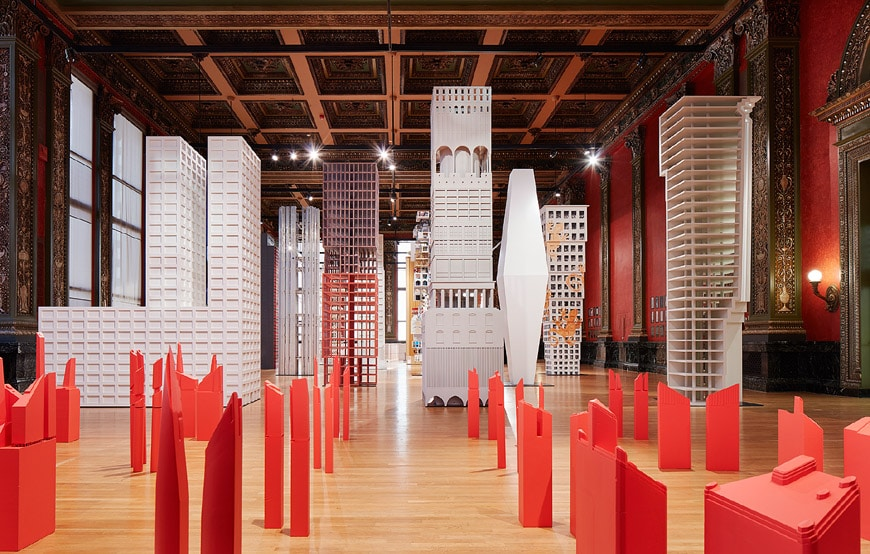 Vertical City at Sidney R. Yates Hall 2017 Chicago Architecture Biennial 2