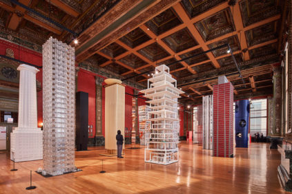 Vertical City at Sidney R. Yates Hall 2017 Chicago Architecture Biennial