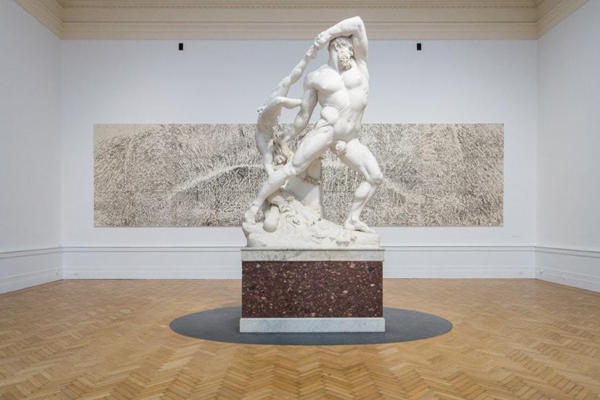 Canova Penone Galleria Nazionale Arte Moderna e Contemporanea Roma Inexhibit