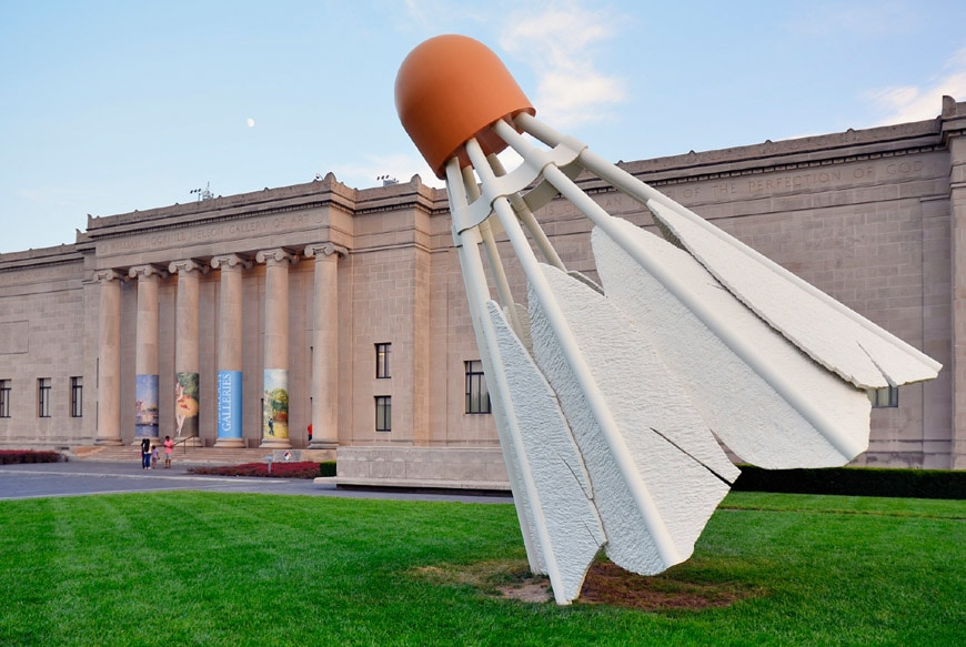 Claes Oldenburg Nelson Atkins Museum of Art Kansas City