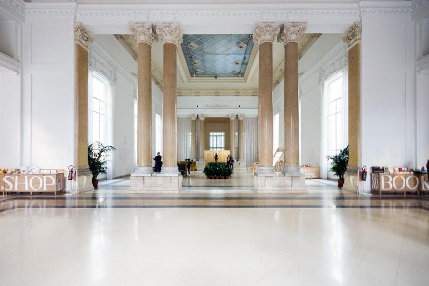 Galleria Nazionale Roma Inexhibit 07