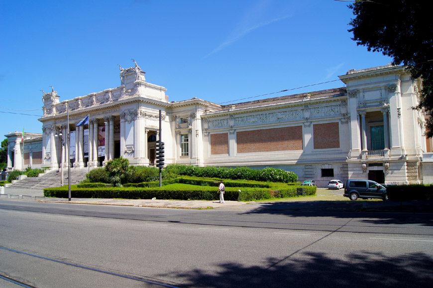 La Galleria Nazionale Rome exterior