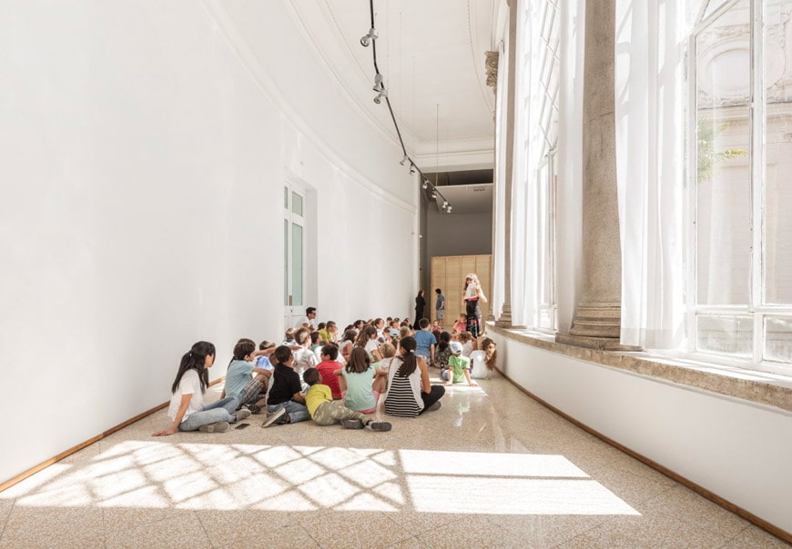 Children's workshop Rome Galleria Nazionale