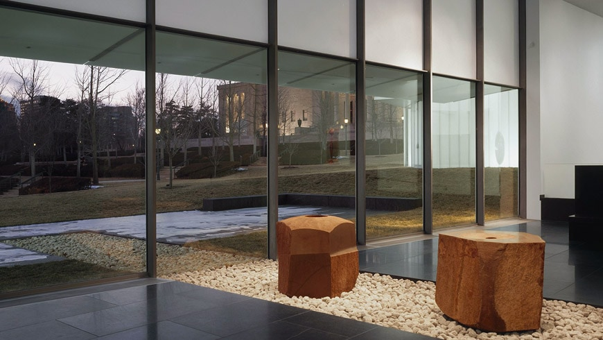 Nelson Atkins Museum of Art Kansas City Steven Holl Isamu Noguchi Court