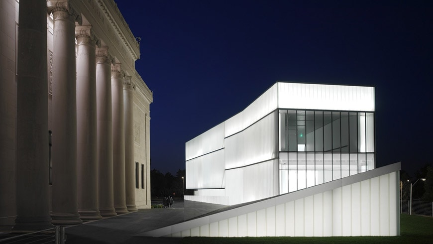 Nelson Atkins Museum of Art Kansas City Steven Holl exterior 03