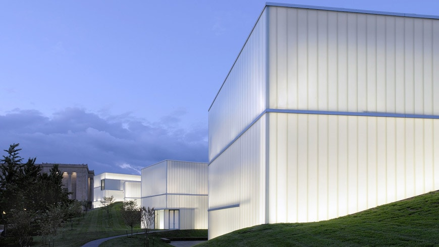 Nelson Atkins Museum of Art Kansas City Steven Holl exterior 04