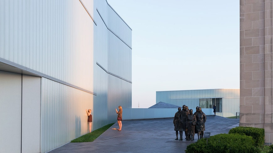 Nelson Atkins Museum of Art Kansas City Steven Holl exterior 05