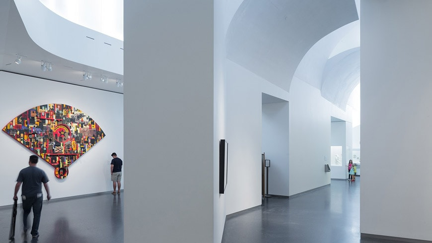 Nelson Atkins Museum of Art Kansas City Steven Holl gallery interior 1