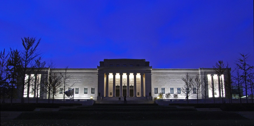 Nelson Atkins Museum of Art Kansas City historical building 2