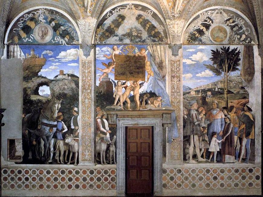 Palazzo Ducale Mantova Andrea Mantegna 1