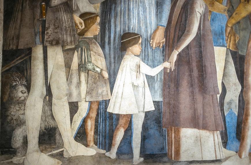 Palazzo Ducale Mantova Andrea Mantegna 2