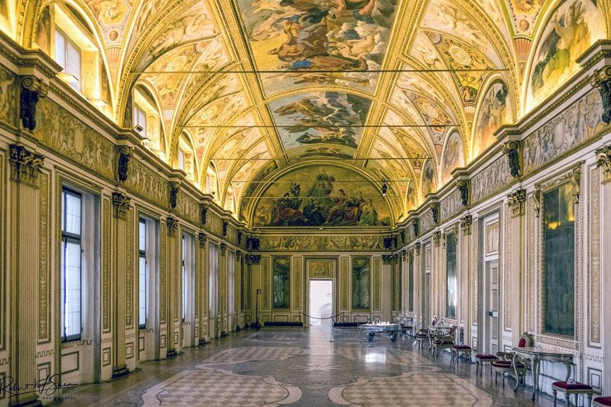 Palazzo Ducale Mantova Galleria degli Specchi