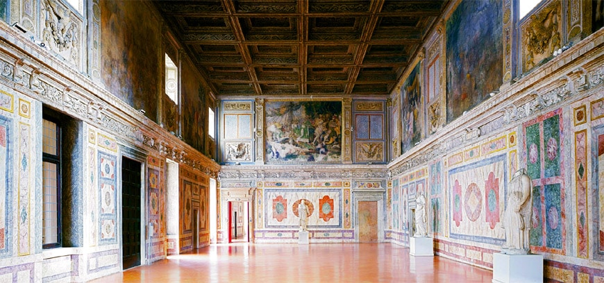 Palazzo Ducale Mantova Sala del Manto