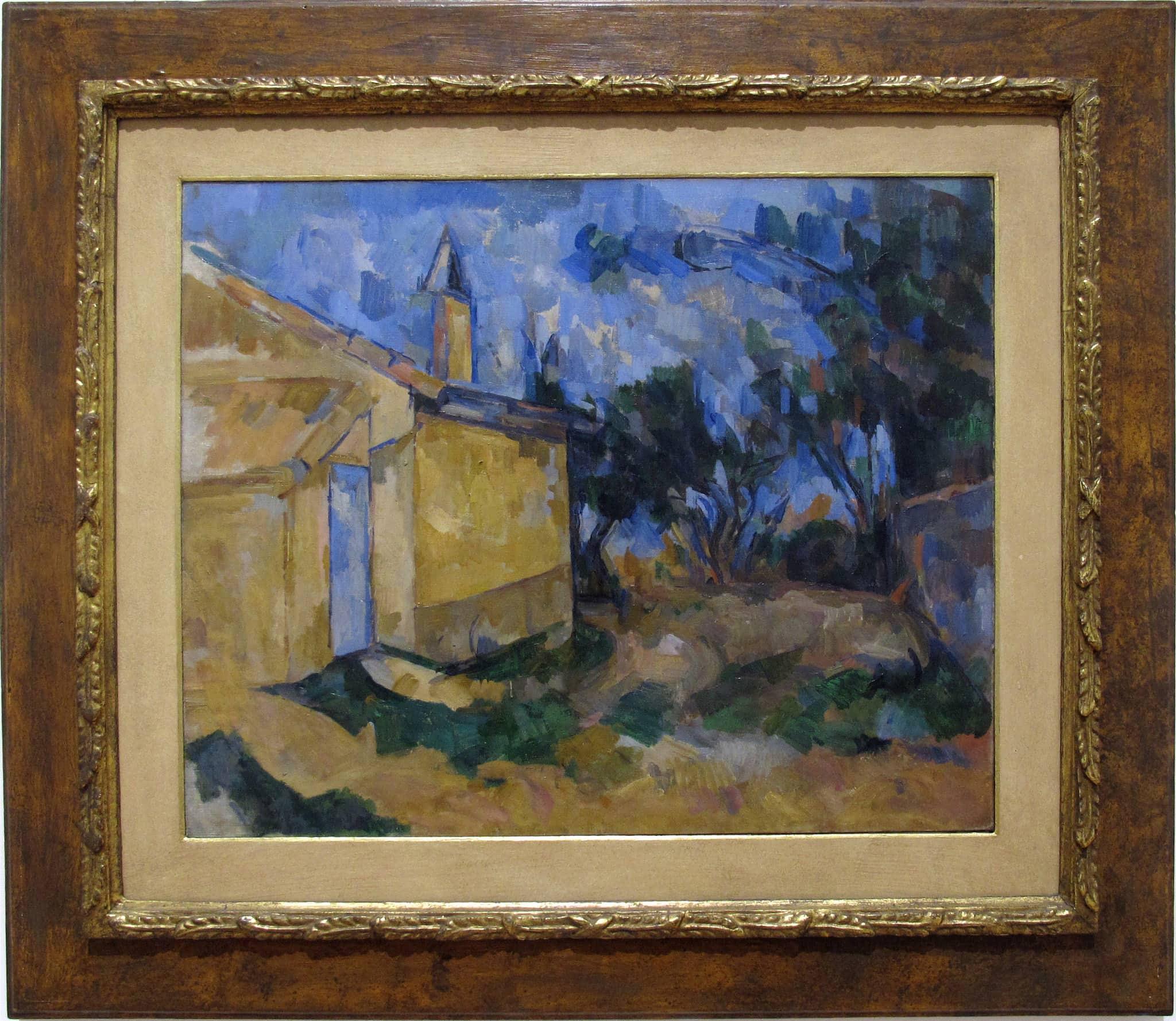 Paul Cézanne Le Cabanon de Jourdan Galleria Nazionale-Roma