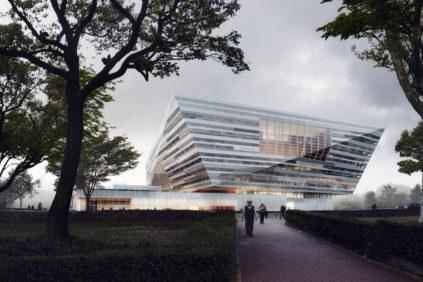 Schmidt-Hammer-Lassen-Shanghai East Library-Exterior-1