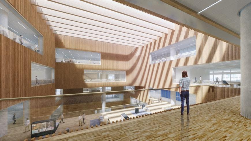 Schmidt-Hammer-Lassen-Shanghai-East-Library-Floor-6-Reading-Plaza