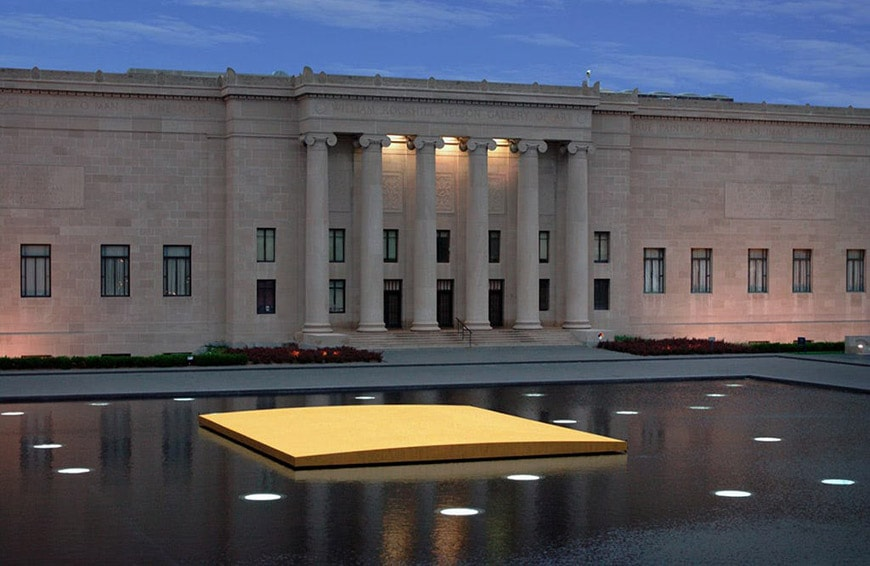 Walter De Maria Nelson Atkins Museum of Art Kansas City