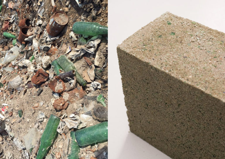 pet bottles as bricks Pet bottle brick may not affected by vegetation, because it was covered by the mud or sands inside of the pet bottles so there is no vegetation growth in.