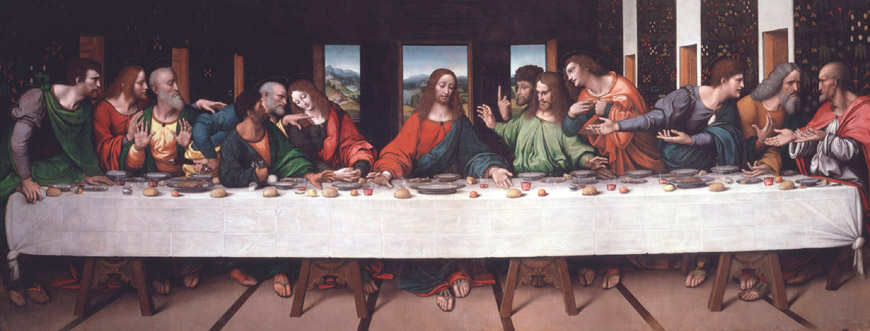 Giampietrino Last-Supper 1520 Royal Academy of Arts