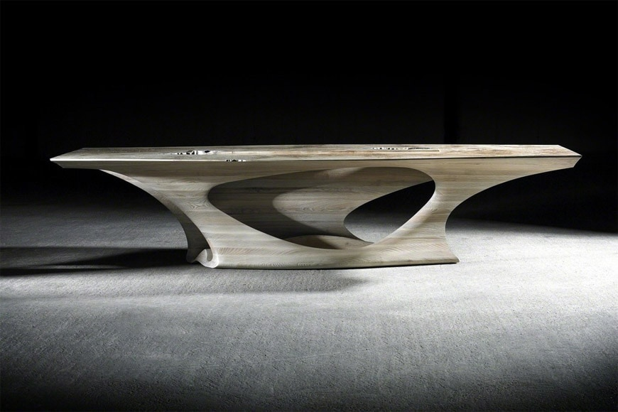 Joseph Walsh Erosion I dining table 1