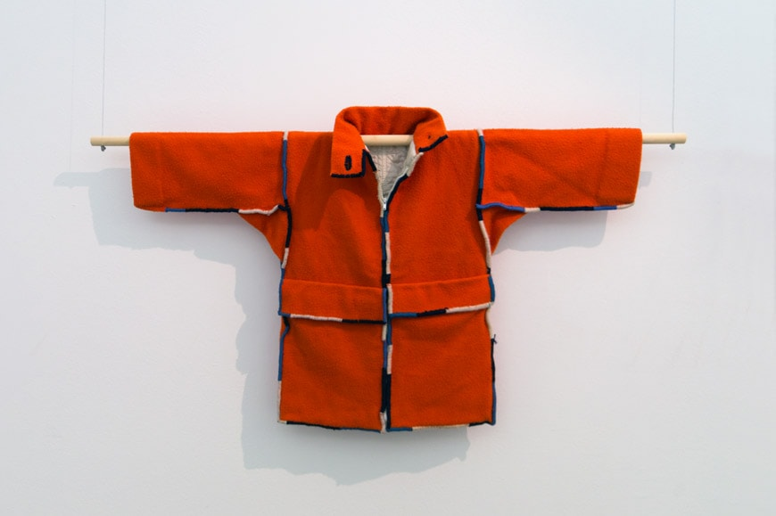 Lucia Barlolini Archizoom Giacca casentino jacket Italian radical fashion Inexhibit l