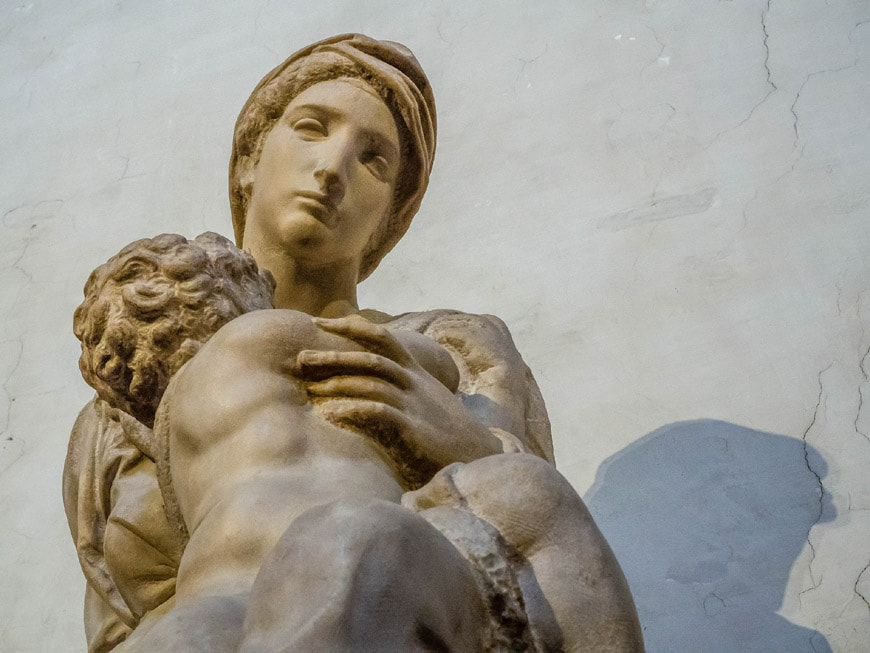 Madonna Medici Michelangelo Sagrestia Nuova Cappelle Medicee Firenze