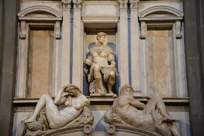 Michelangelo Sagrestia Nuova Cappelle Medicee Firenze 1