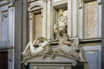 Michelangelo Sagrestia Nuova Medici Chapel Museum Florence