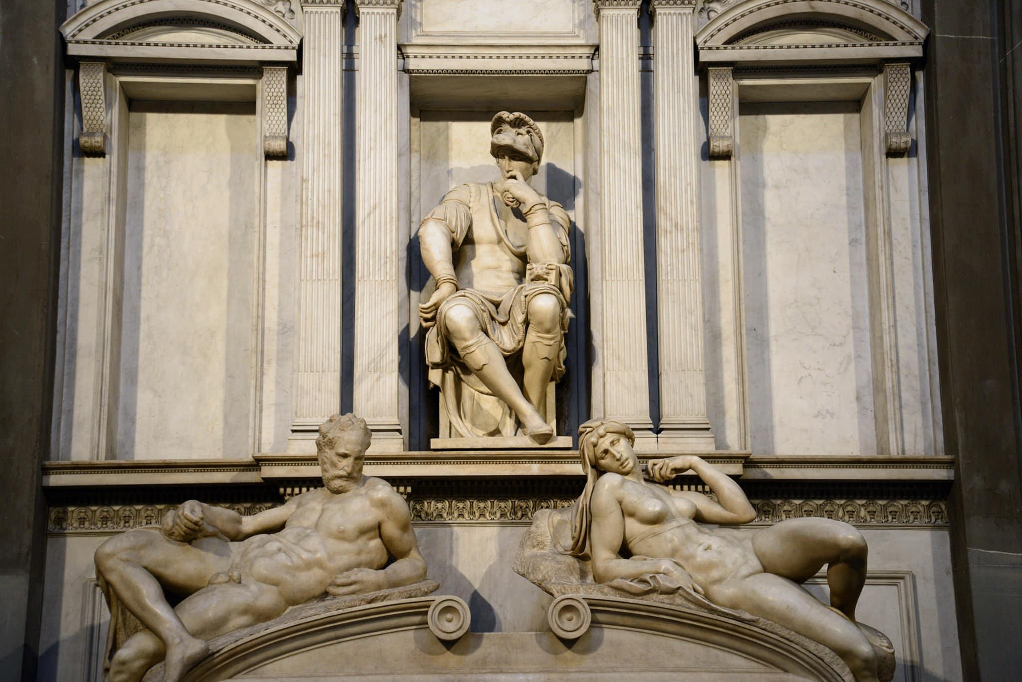 Michelangelo Sagrestia Nuova Cappelle Medicee Firenze 4