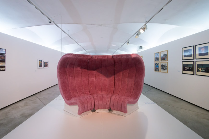 Superstudio, Bazaar sofa, 1968, Italian Radical Design 1960s Inexhibit