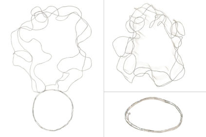 circle_broken – necklace / brooch