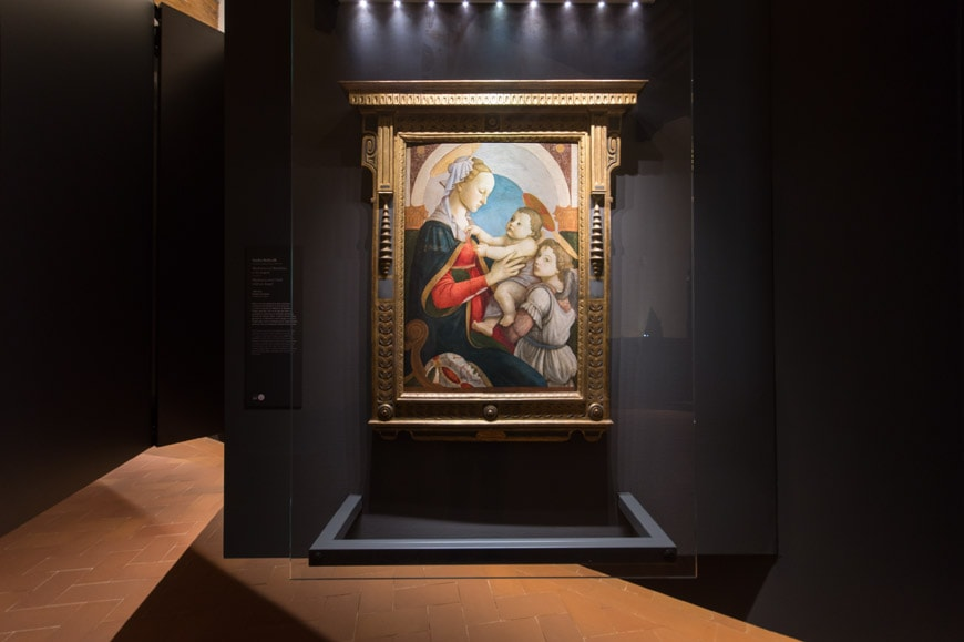 Botticelli Museo degli Innocenti museum Florence Firenze Inexhibit 11 l