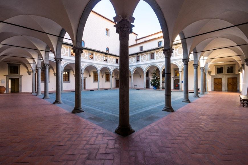 Filippo Brunelleschi Museo degli Innocenti museum Florence Firenze Inexhibit 01 l