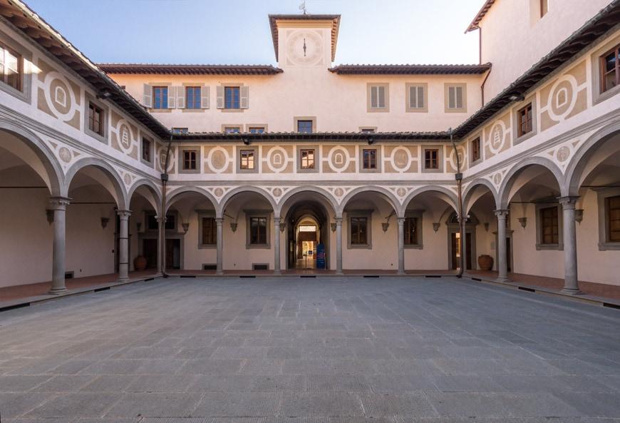 Filippo Brunelleschi Museo degli Innocenti museum Florence Firenze Inexhibit 02 l
