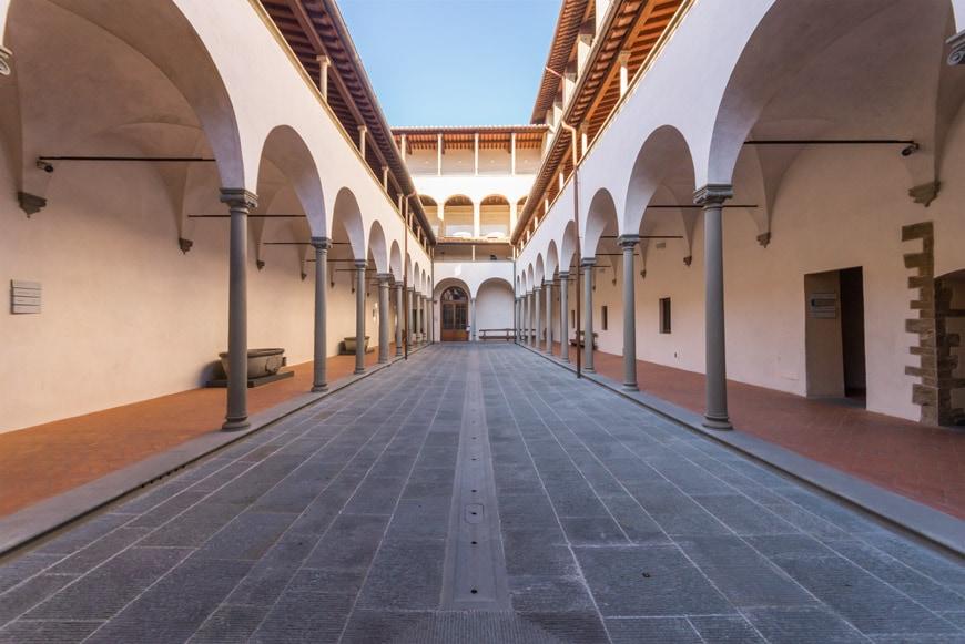 Filippo Brunelleschi Museo degli Innocenti museum Florence Firenze Inexhibit 05 l