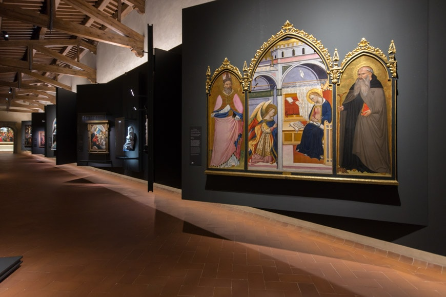 Museo degli Innocenti museum Florence Firenze Inexhibit 12 l