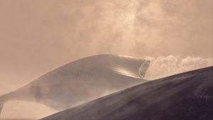 Zaha Hadid Architects Bee'ah headquarters UAE 1