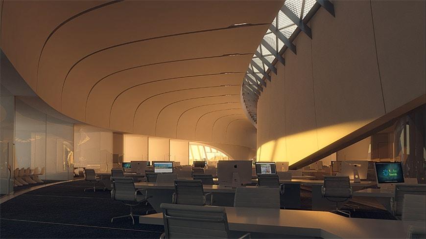 Zaha Hadid Architects Bee'ah headquarters UAE 11