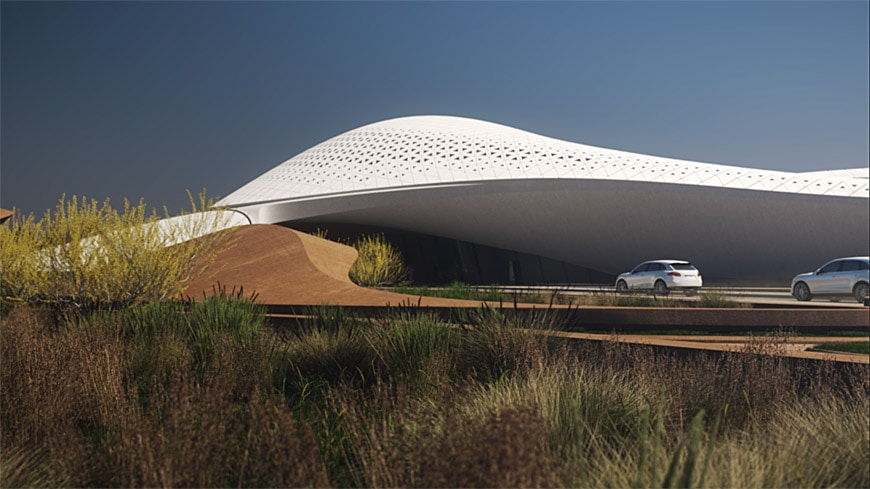 Bee Ah Headquarters By Zaha Hadid Architects To Open In 2018