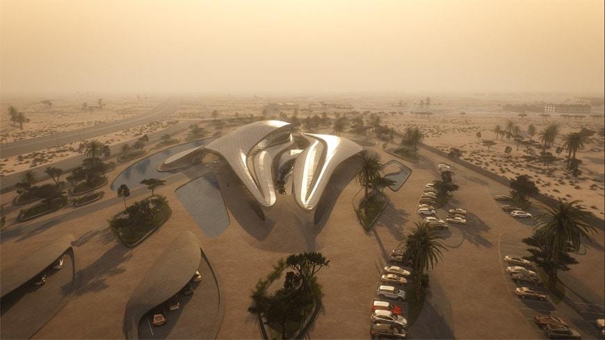Zaha Hadid Architects Bee'ah headquarters UAE 18
