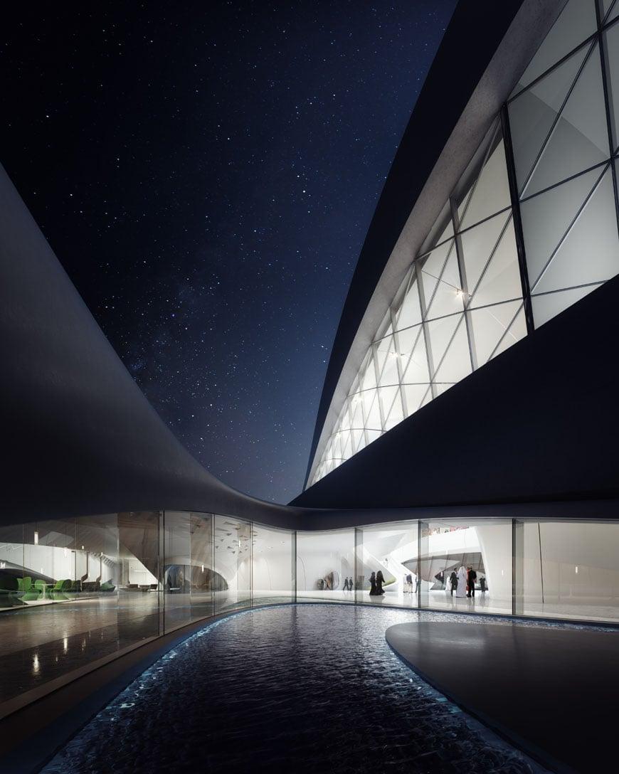 Zaha Hadid Architects Bee'ah headquarters UAE 3