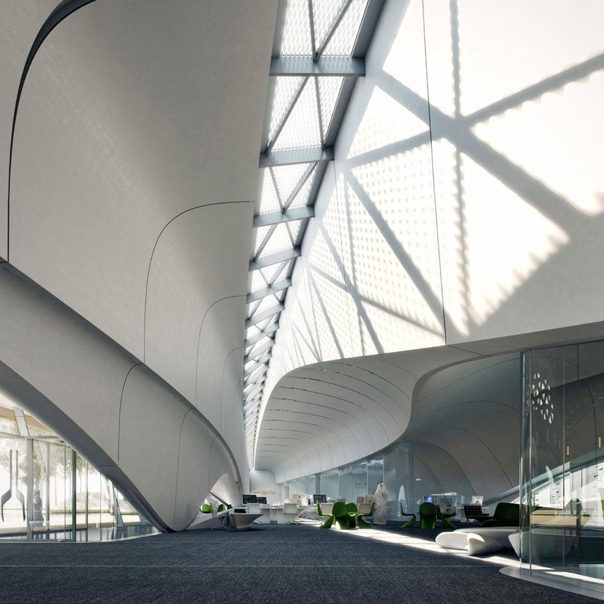 Zaha Hadid Architects Bee'ah headquarters UAE 4