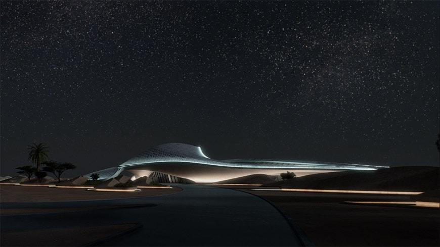 Zaha Hadid Architects Bee'ah headquarters UAE 8