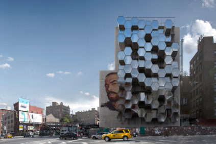 "L""Architettura Parassita' di Framlab: cellule abitative per homeless a New York"