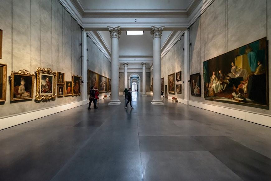Galleria Nazionale Parma Palazzo Pilotta museum gallery Inexhibit