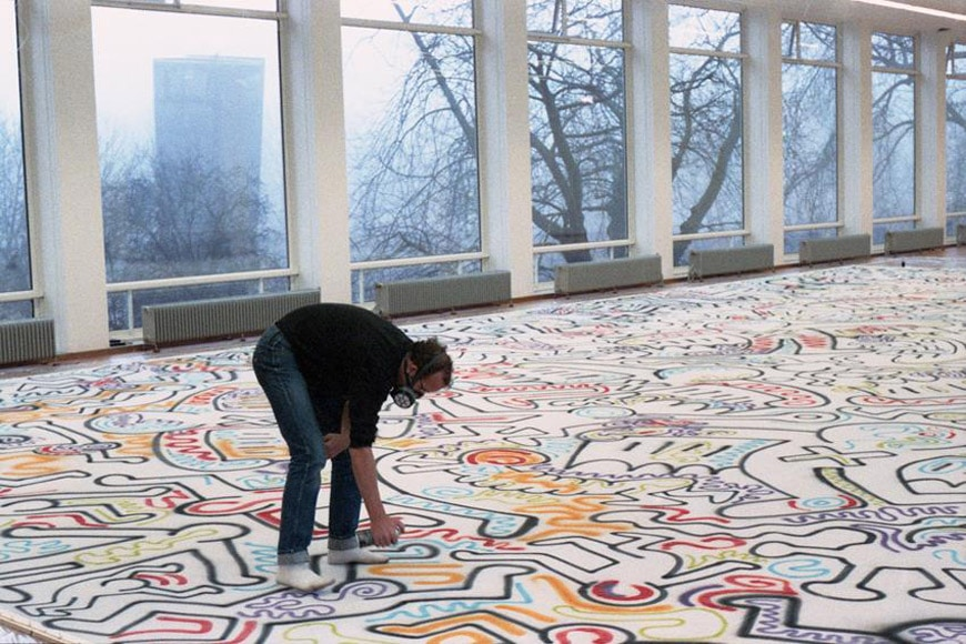 Image result for keith haring at work